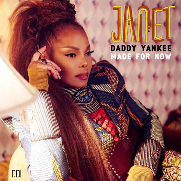 Janet Jackson - Made For Now CD1 (The Remixes) CD single - Dj pressing.