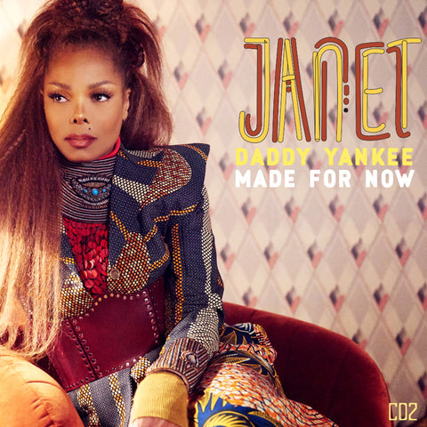 Janet Jackson  - Made For Now CD2  (The Remixes)  DJ Pressing.