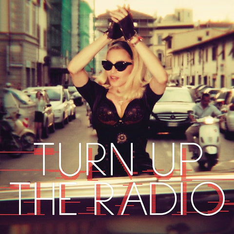 MADONNA Turn Up The Radio (Remixes)  DJ CD single