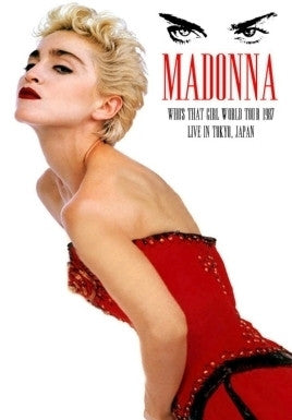 MADONNA Who's That Girl LIVE JAPAN DVD