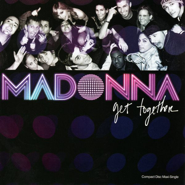 Madonna - Get Together / I Love New York - Maxi CD single - Used