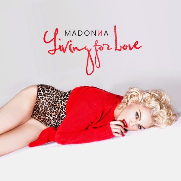 MADONNA LIVING FOR LOVE (Remixes) CD single (DJ)