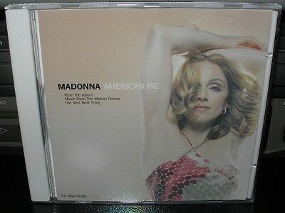 Madonna - American Pie (Canada Maxi CD single) 4 track