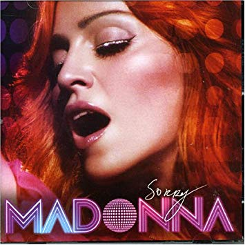 MADONNA - Sorry (USA Maxi CD single) New