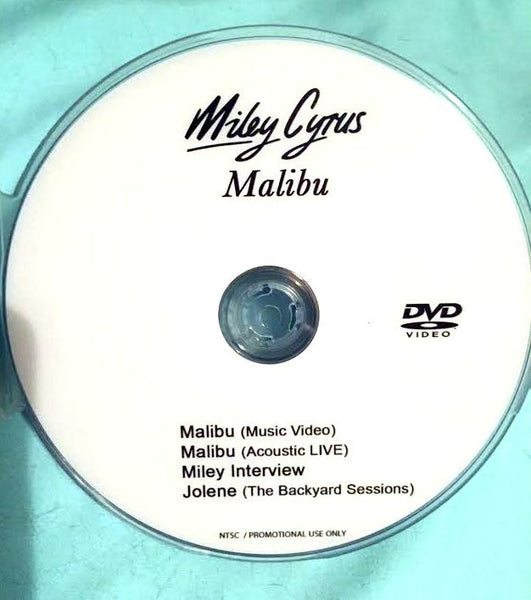 Miley Cyrus - Malibu (DVD) Music Video + LIVE
