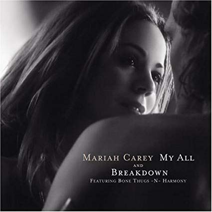 Mariah Carey - My All  & Breakdown CD single Used