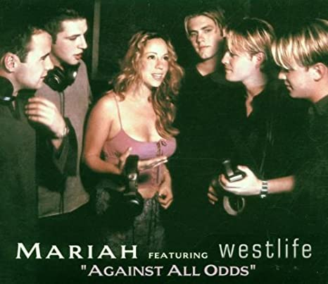 Mariah Carey ft: Westlife : Against All Odds (Import CD single) Used VG+