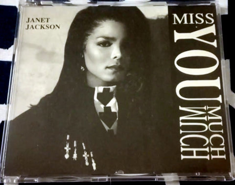 Janet Jackson - Miss You Much (Import CD single) Used