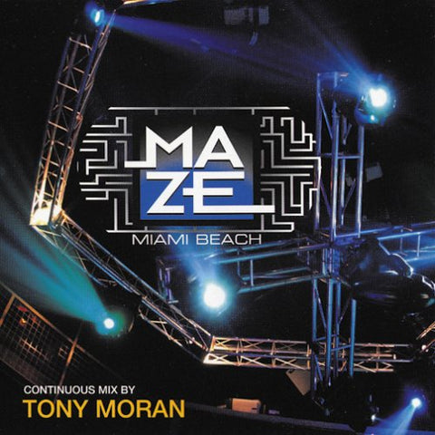 "Tony Moran - Maze ""Miami Beach"" CD - Used"