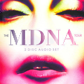 MADONNA MDNA LIVE in Amsterdam 2CD + bonus tracks (sale)