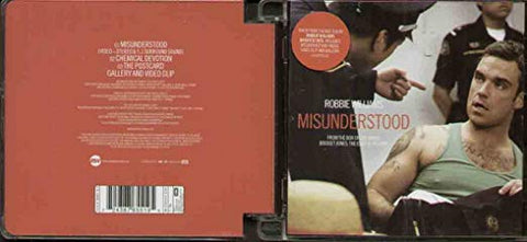robbie williams DVD- misunderstood (NEW)