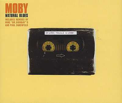 Moby - Natural Blues (Remix) CD single -Import - used