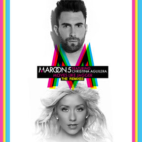 Maroon 5 Ft Christina Aguilera Moves Like Jagger Remix Cd Borderline Music