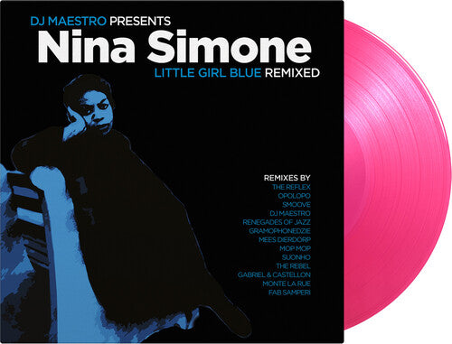 Nina Simone -Little Girl Blue: Remixed [Limited 180g Transparent Pink Colored Vinyl] [Import] -