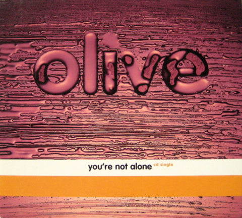 Olive - You're Not Alone (CD single) Used