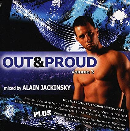 Out & Proud vol. 3 - Used CD (various) (Boy George, Dennis Ferrer, Suzanne Palmer+