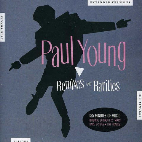 Paul Young -  REMIXES & Rarities - Double IMPORT CD - New