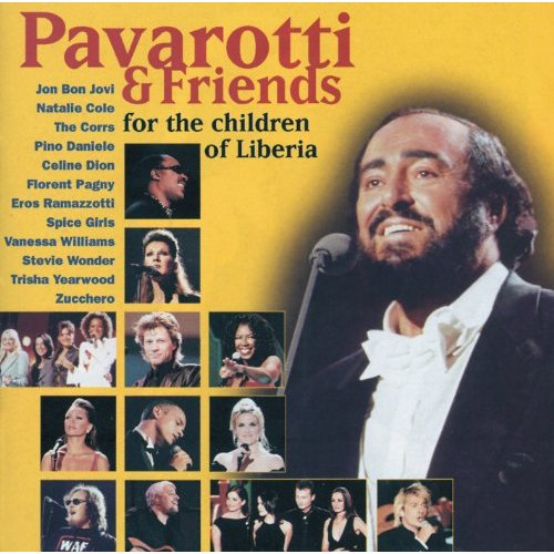 Pavarotti & Friends - For The Children Of Liberia CD