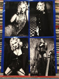 Madonna - Set of 4 Postcards Bazaar 2017