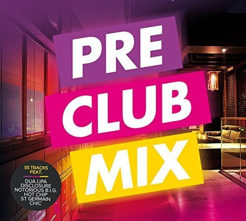 Pre Club Mix - Various Artist remixes 3 CD set (Import)