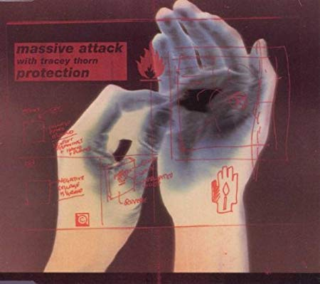 Massive Attack ft: Tracey Thorn - PROTECTION (Import CD remix Single) - Used