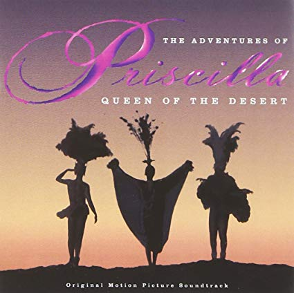 The Adventures of Priscilla Queen of the Desert - Used CD soundtrack