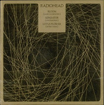 "Radiohead - 12"" vinyl Bloom / Separator / Lotus Flower"