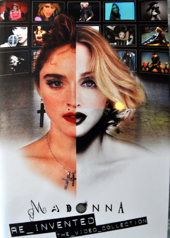 MADONNA Re_Invented Videos DVD
