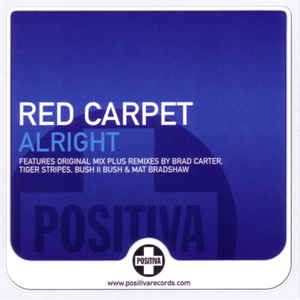 Red Carpet - Alright (CD single) Postivia