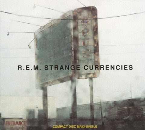 R.E.M.- Strange Currencies - USA Maxi CD single (used)