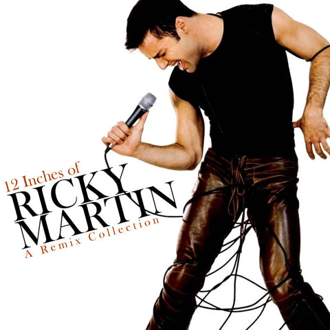 "Ricky Martin - 12"" REMIX Collection CD  (SALE)"