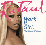 RuPaul (Ru Paul) Work It Girl: The Music Videos DVD (New)