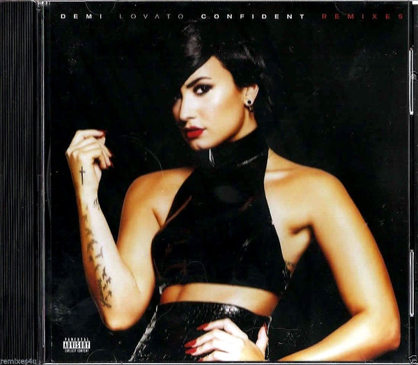 Demi Lovato - Confident promo CD single (Remixes) OFFICIAL