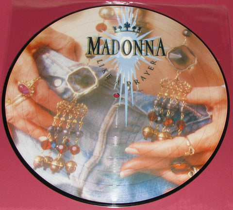 Madonna - LIKE A PRAYER Picture Disc LP