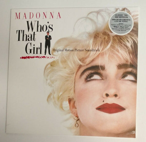 Madonna - Who's That Girl (Soundtrack) Clear Vinyl - New
