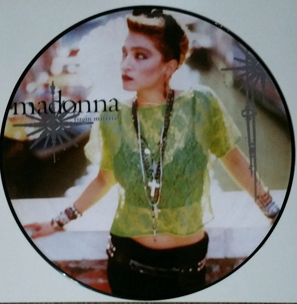 "Madonna[ Picture Disc] -  Virgin Material 12"" LP Vinyl"