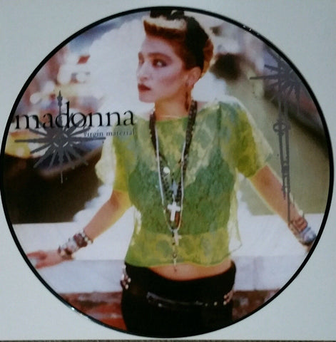 "Madonna [Picture Disc] -  Virgin Material 12"" LP Vinyl"