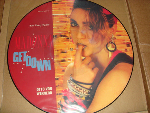 "Madonna Picture Disc GET DOWN 12""  Vinyl"