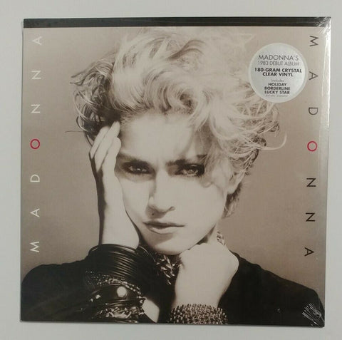 Madonna - Madonna (Debut Album) Clear vinyl edition - LP Vinyl
