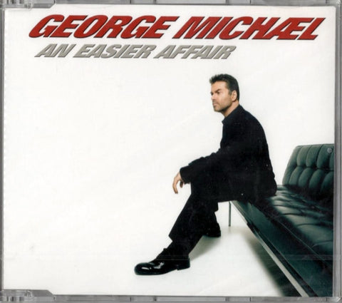 George Michael - An Easier Affair (Import CD single) Sealed.