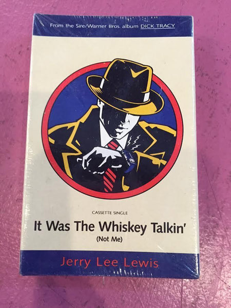 "Dick Tracy - Cassette single ""It was the whisky talkin' NEW"