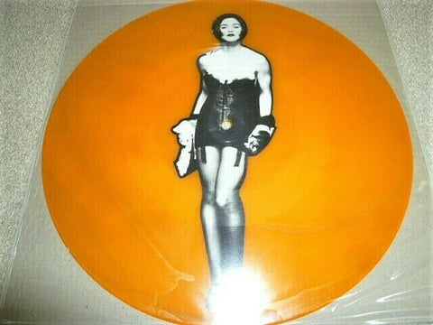 "Madonna 12"" Interview Vinyl  picture disc. Uncut test pressing. rare"