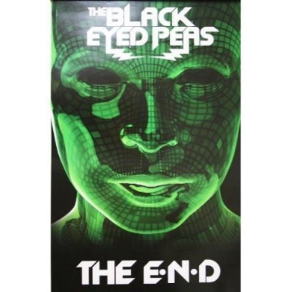Black Eyed Peas - The E.N.D. Official 2-sided Promo Poster - LOW STOCK