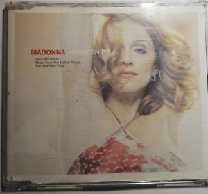 Madonna - AMERICAN PIE (Import) CD single - remix - Used