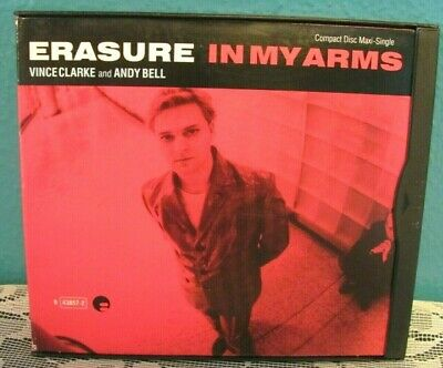Erasure - IN MY ARMS (US maxi remix CD single) Used