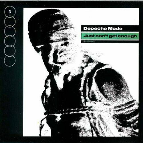 depeche mode - Just Can't Get Enough (Import CD single) Used
