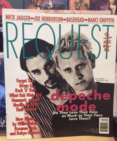 Depeche Mode Magazine 1993