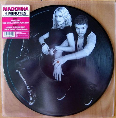 Madonna - Picture Disc 4 Minutes ft: Justin Timberlake LP Vinyl