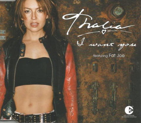Thalia - I  Want You CD1 w/ It's My Party CD Single (Import)