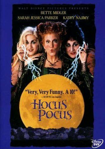 Bette Milder -HOCUS POCUS (used) DVD + Bonus (new) REMIX CD